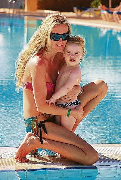 Barbara Kautmanová s dcerou Rozárkou