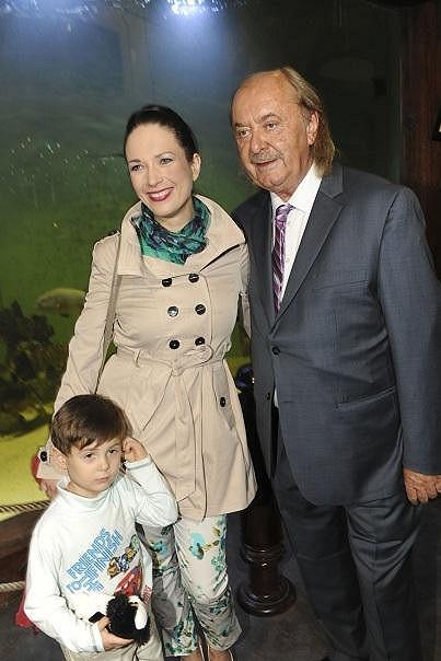 Nechyběla ani Tereza Kostková se synem Toníčkem.