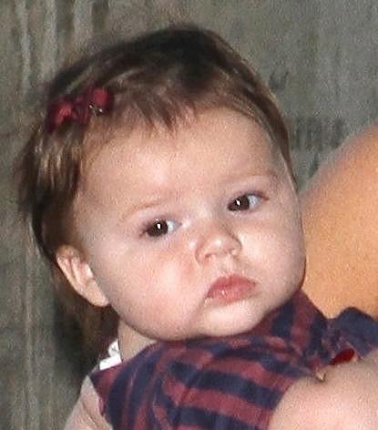 Malá Harper, dcera Victorie a Davida Beckhamových.