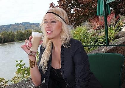 Katka si užívala pár dnů volna v Rakousku.
