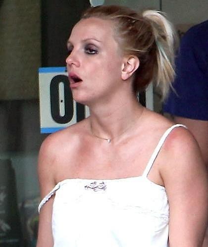 Britney Spears zase jednou neřešila, zda na ni nečíhají paparazzi.