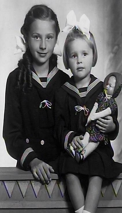Emílie Vášáryová a Magda Vášáryová měly krásné dětství.
