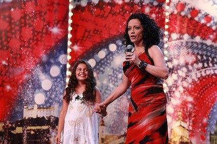 Dianka v Talentu Bílou svým zpěvem ohromila.