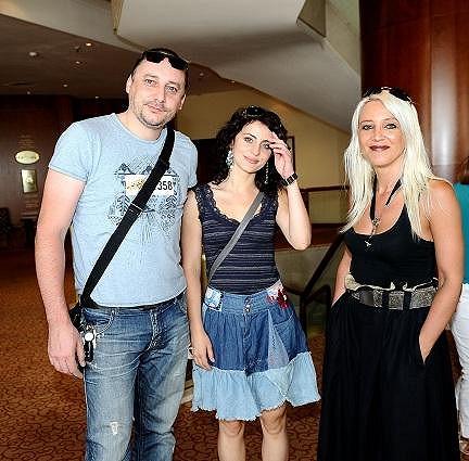 Do show se přihlásili i zástupci rockové opery Klíč králů Marian Vojtko, Markéta Procházková a Mirjam Landa.