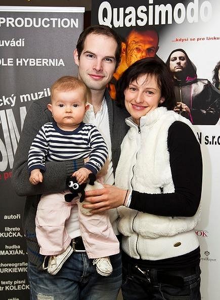 Šťastná rodinka.