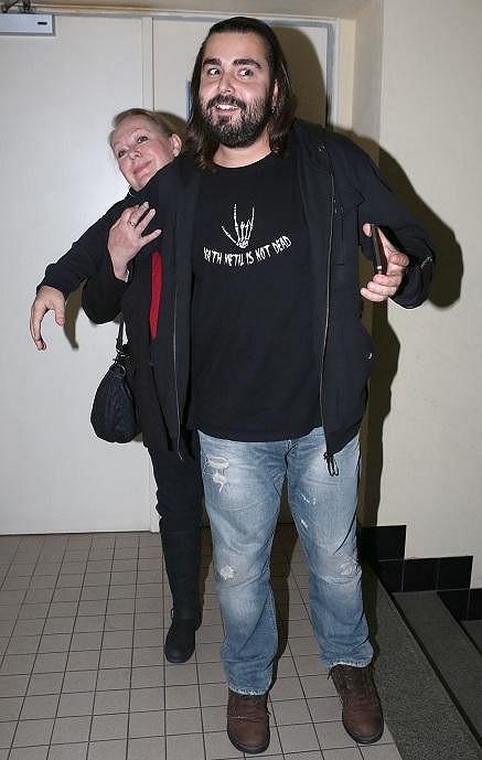 Gábina Osvaldová s přítelem Mirkem Mirčevem.