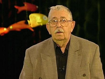 Otec Marka Vlastimil Brodský před 11 lety v Banánových rybičkách.
