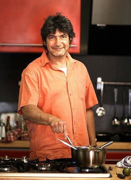 Kontroverzní televizní kuchař Jiří Babica.