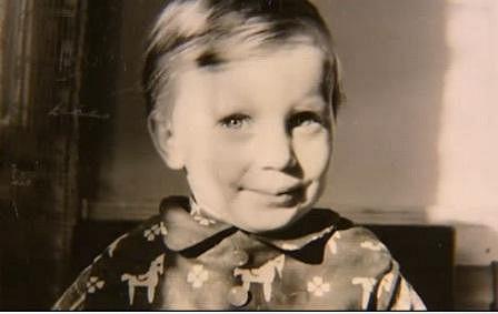 Kateřina Kornová jako malá holčička.