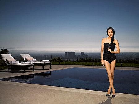 Vera Wang pro Harper's Bazaar.