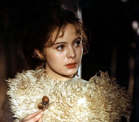 Libuše Šafránková v roce 1971 jako filmová Popelka.
