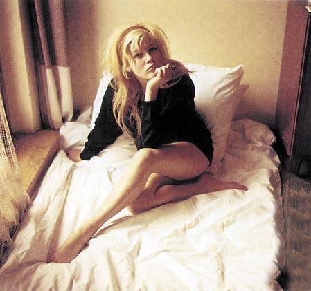 Olga Schoberová na fotce, která zdobila titulku Playboye v březnu roku 1964.