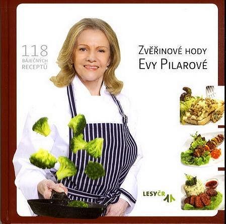 Kuchařka Evy Pilarové, jejíž jeden výtisk přišel na čtyři tisíce korun