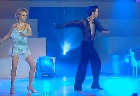 Lucie Vondráčková zatančila roku 2007 v pořadu Tanec kolem světa.