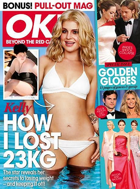 Kelly Osbourne v časopise OK!