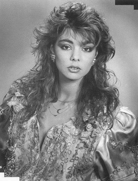 Sandra jako pěvecký idol 80. let.