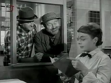 Ve filmu Uspořená libra si herečka zahrála se svým otcem Janem Werichem nebo Jiřím Sovákem.