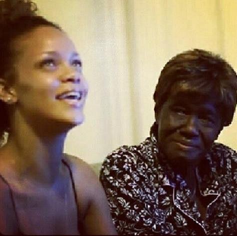 RiRi se snažila svou babičku navštěvovat, co nejvíc to šlo.