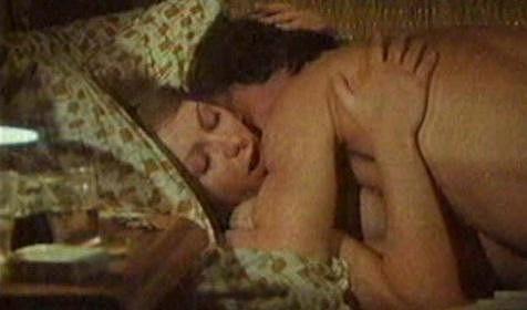 Gábina Osvaldová během milostné scény s Pavlem Zedníčkem. Tehdy jí bylo osmadvacet let.