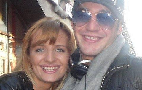 Sámer s novou milenkou, která prý je Miss Moskva.