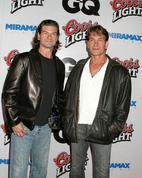 Don Swayze s bratrem Patrickem na snímku z roku 2004.