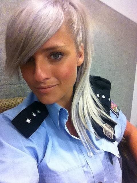 Alena Malárová patří k nejhezčím českým policistkám.