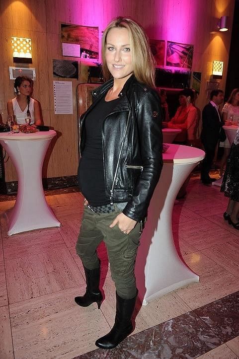 Zuzana Rosáková už je v sedmém měsíci.