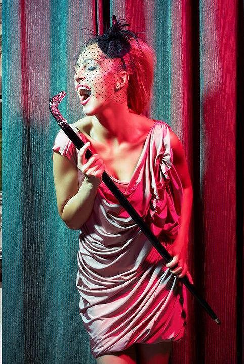 Renata Langmannová zkouší i zpěv.