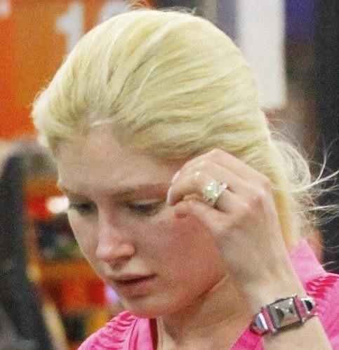 Heidi Montag bez make-upu.