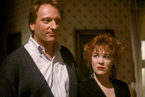 Herečka v komedii Beetlejuice (1988).