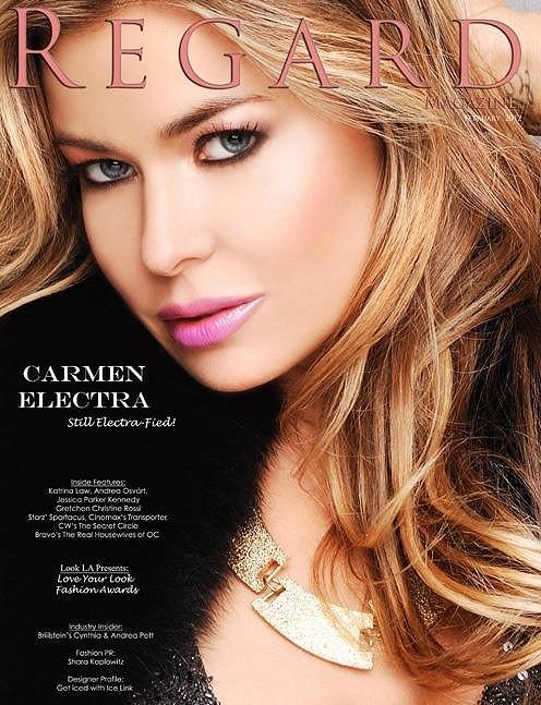 Electra na obálce časopisu Regard.