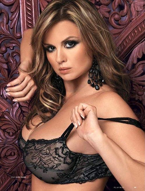 Anna Semenovič v Playboyi.
