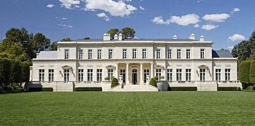 Tamara Ecclestone má v Americe vlastní zámek ve francouzském stylu.