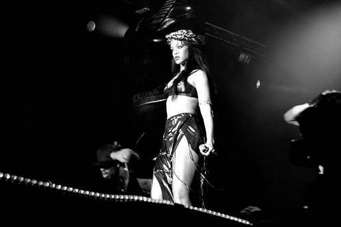 Rihanna v Norsku.
