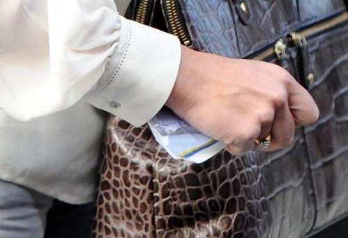 Pippa Middleton si strká pokutu do kabelky. Zaplatí ji?