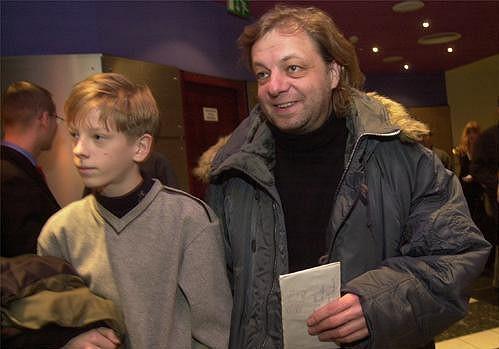 Režisér Milan Šteindler vzal na slavnostní premiéru Pána prstenů: Návrat krále svého syna.