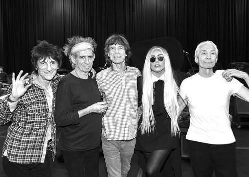 Zpěvačka s Rolling Stones.