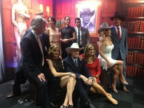 Snímek herců z nového pokračování Dallasu.