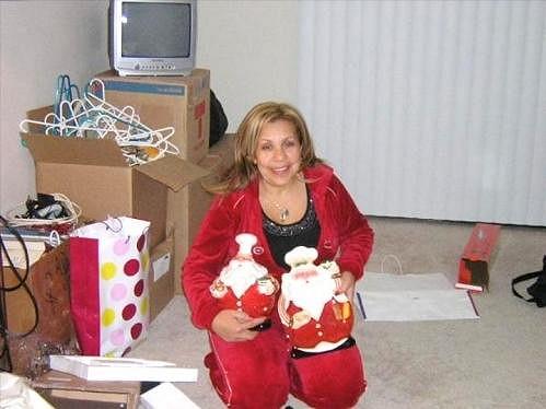 Snímek z Patriciina rodinného alba.