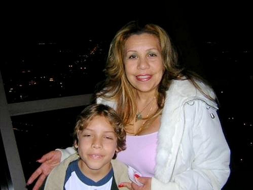 Patricia se Schwarzeneggerovým synem.
