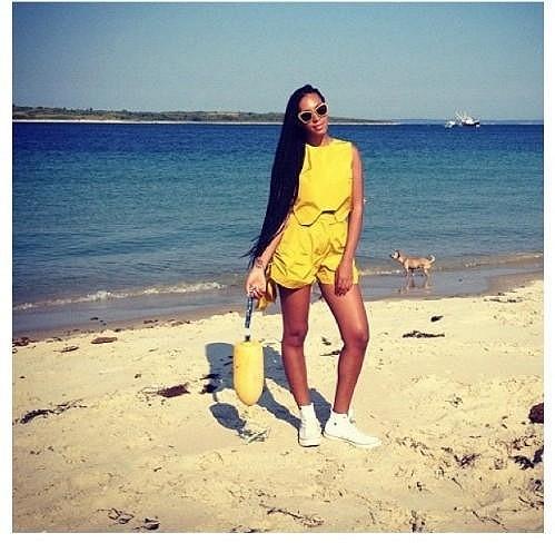 Mladší sestra Beyoncé Solange Knowles.