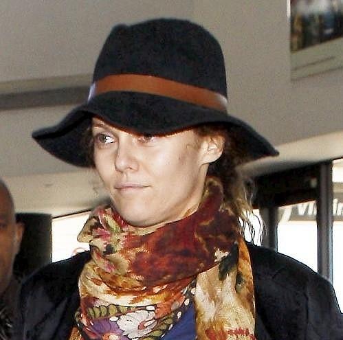 Vanessa na letišti v Los Angeles.