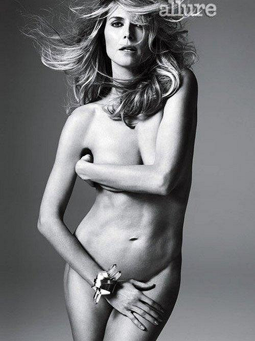 Heidi Klum pro magazín Allure.