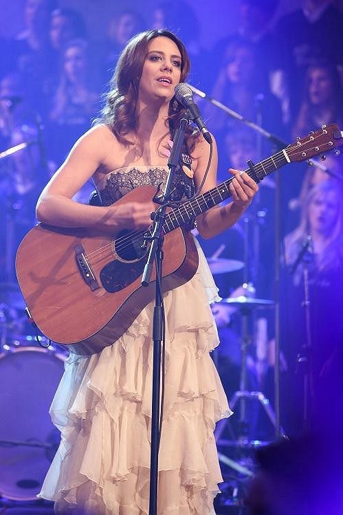 Aneta Langerová na koncertě Světlušky, který letos oslaví deset let existence.