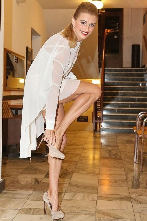 Ivana má neskutečně vymakané nohy.