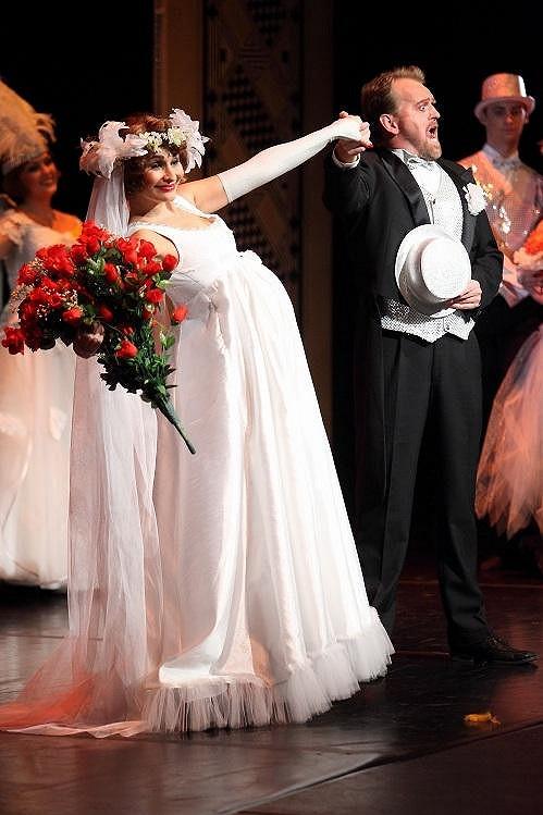 Veselá nevěsta.