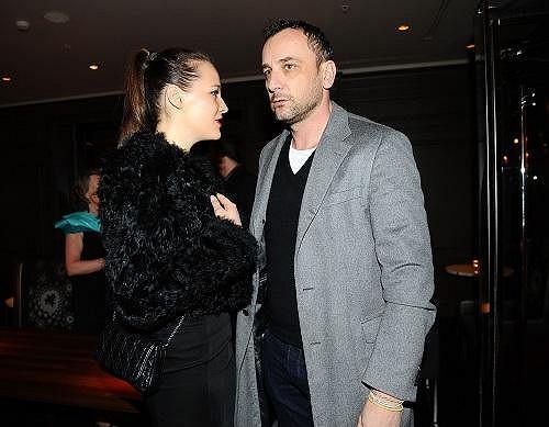 Kateřina Sokolová s přítelem.