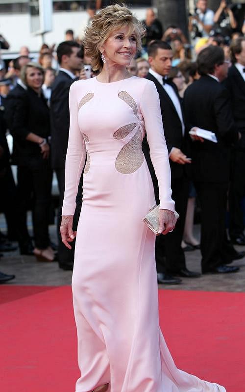 Jane Fonda na filmovém festivalu v Cannes všechny oslnila tím, jak báječně vypadá.