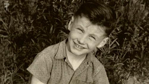 Takhle vypadal jako malý kluk.