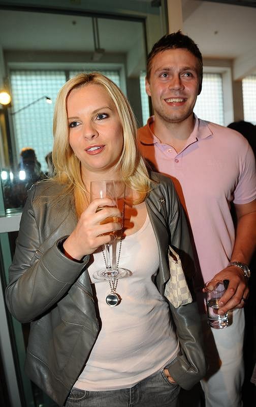 Kateřina Kristelová s manželem.